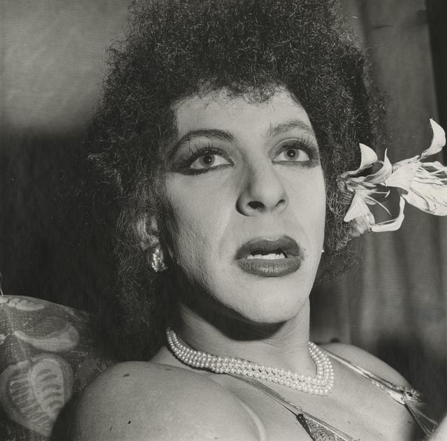 , 'Drag Queen with Flower, Halloween,' 1981, Albert Merola Gallery