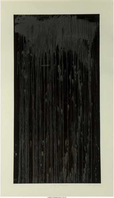 Pat Steir, 'Wolf Waterfall', 2001, Heritage Auctions