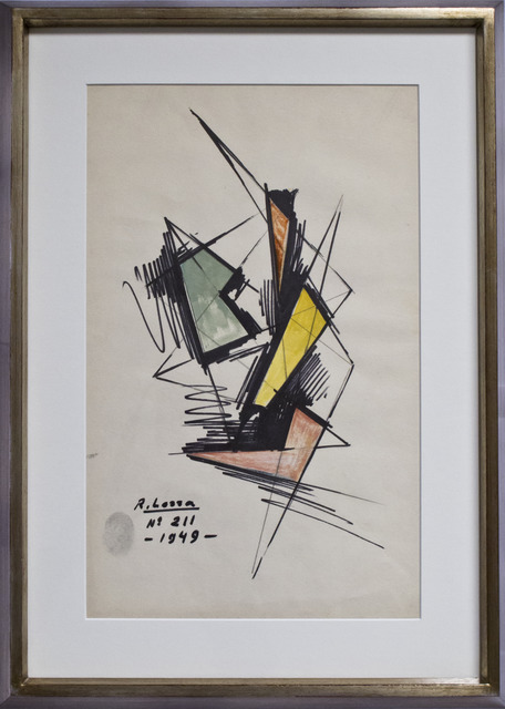 , 'N°211,' 1949, Cosmocosa