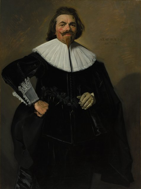 Frans Hals, 'Portrait of Tieleman Roosterman', 1634, Painting, Oil on canvas, Cleveland Museum of Art