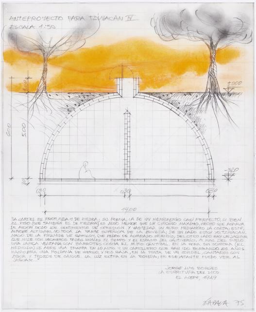 , 'Anteproyecto para Tzinacan IV,' 1975, Henrique Faria Fine Art
