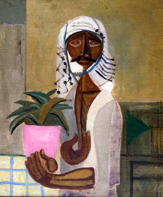 Jewad Selim, 'Untitled (The Gardener)', ca. 1950, Meem Gallery