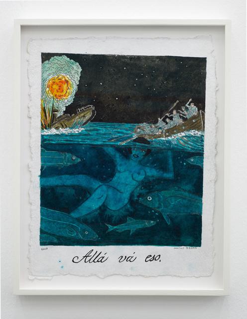 Marcel Dzama, 'Allá vá eso (There it goes)', 2019, Sies + Höke