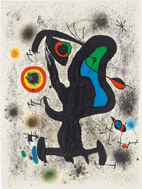 Joan Miró, 'Lithograph for the International Plastic Arts Association, Unesco', 1971, Phillips