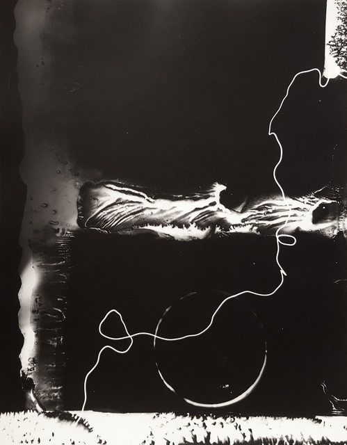 Gyorgy Kepes, 'Untitled photogram', 1980, Robert Klein Gallery