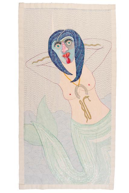 Paloma Castillo, 'Eva', 2021, Textile Arts, Hand Embroidery in linen, Isabel Croxatto Galería