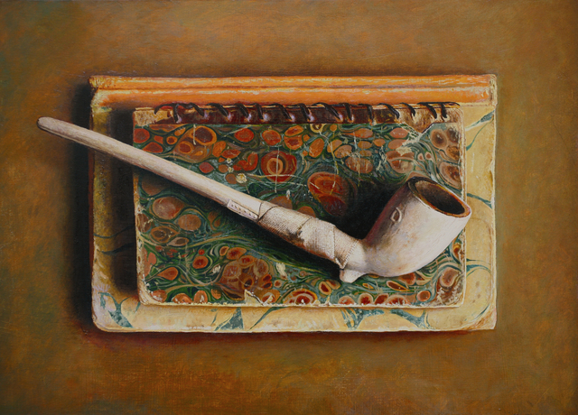 John Whalley, 'Old Knowledge', 2010, Painting, Oil on wood panel, Vose Galleries