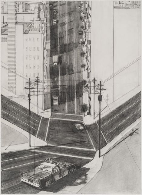 ", 'Untitled (Study for ""City Police Car""),' 1977, Allan Stone Projects"