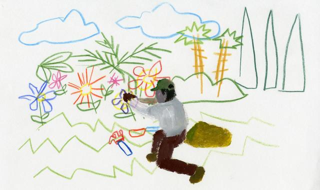 , 'Untitled (Gardener I),' 2012, CuratorLove