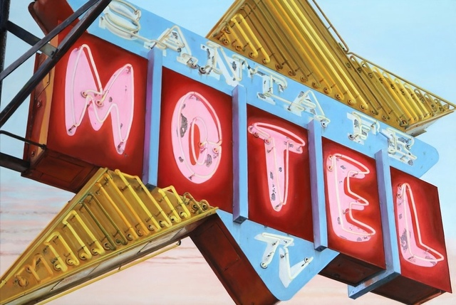 , 'Santa Fe Motel,' 2018, George Billis Gallery