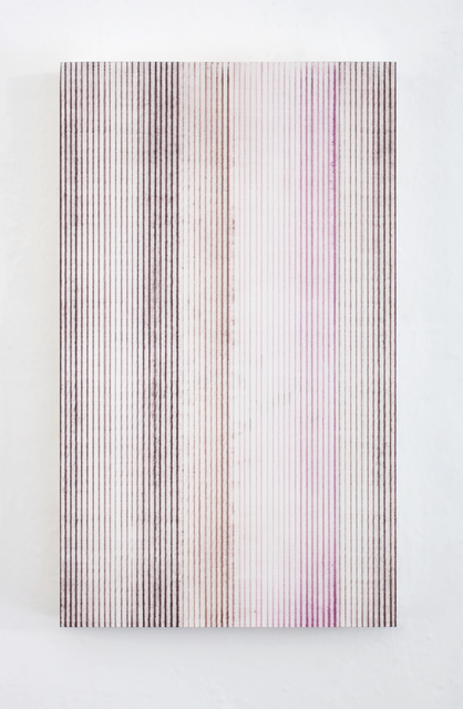 , 'Untitled (Iron Oxide Brown, Caput Mortuum, Dark Magenta),' 2015, Krobath