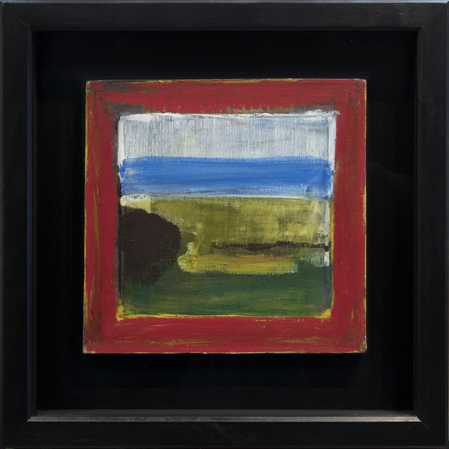 , 'Landscape Through a Red Frame,' 2018, Jessica Hagen Fine Art + Design