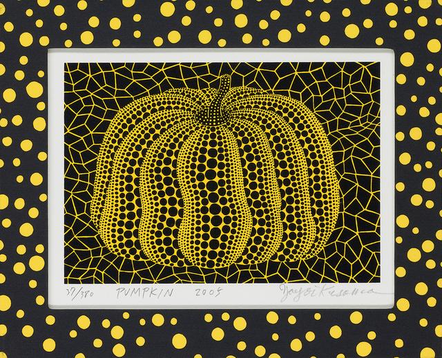 Yayoi Kusama, 'PUMPKIN', 2005, Shukado Gallery