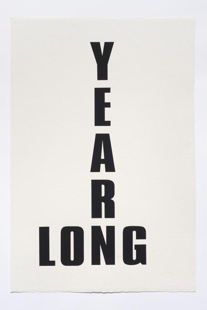 , 'Long, Long Time,' 2015, The Aldrich Contemporary Art Museum