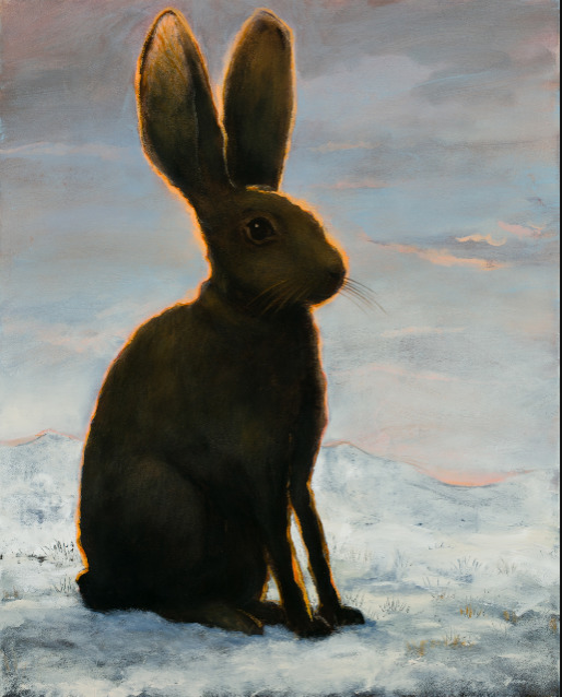 Kevin Sloan, 'The Frozen Hare ', 2018, k contemporary
