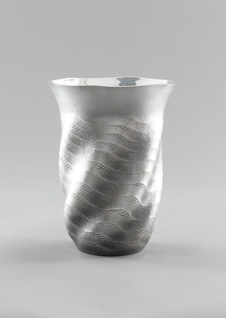 ", 'Silver Vase ""Sea Breeze"",' 1998, Onishi Gallery"