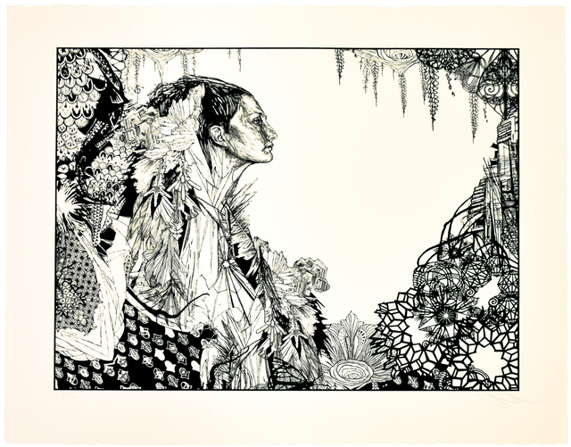 Swoon, 'ICE QUEEN', 2017, Silverback Gallery