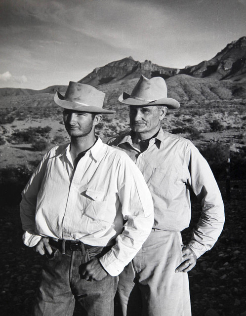 , 'Father and Son in the Big Bend Area of Texas,' 1943, Laurence Miller Gallery
