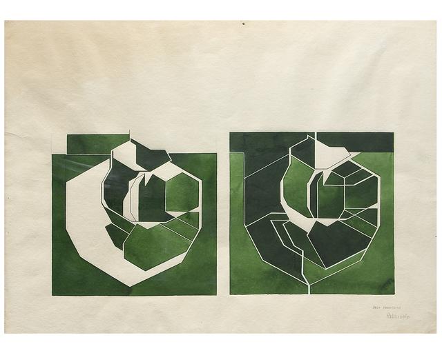 , 'Gouache,' 1987, Galería Marita Segovia