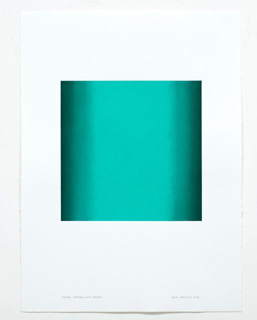 , 'Square, Green Light Series ,' 2018, Edward Cella Art and Architecture