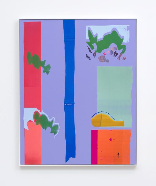 , 'Smoke Bush and Nectarine Shadow,' 2016, M+B