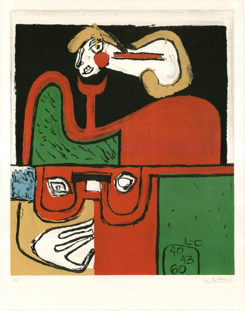 , 'Portrait (hand-signed),' 1960, Placart