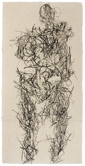 Michele Oka Doner, 'Prairie', 2009, Print, Relief on Handmade Paper, Wildwood Press