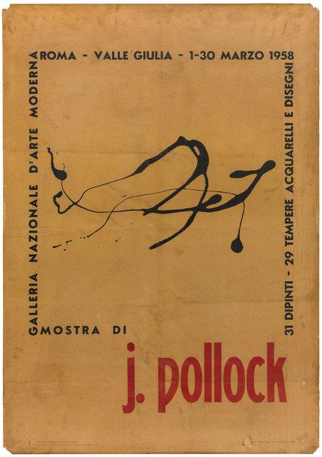 Jackson Pollock, 'Poster', 1958, ArtRite