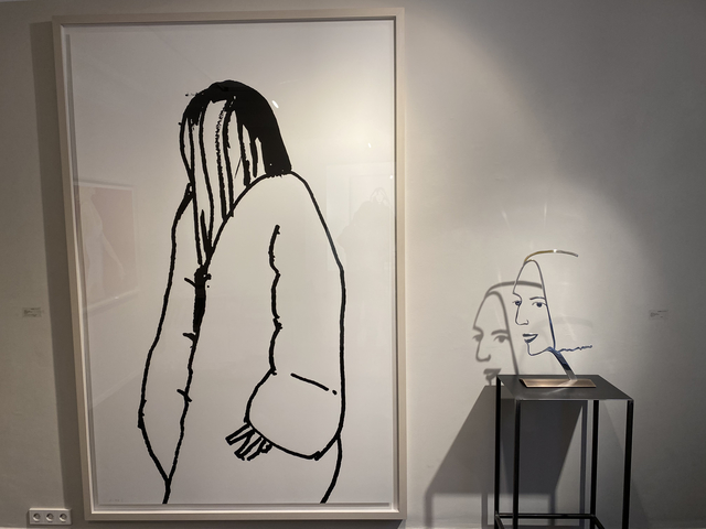 Alex Katz, 'Shopper #11', 2015, Galerie Schimming
