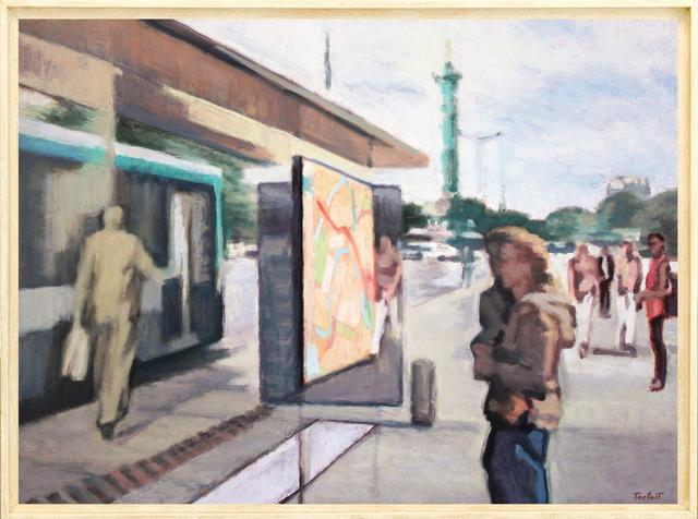 , 'Plan De Métro, Bastille,' 2014, Galerie Art Jingle