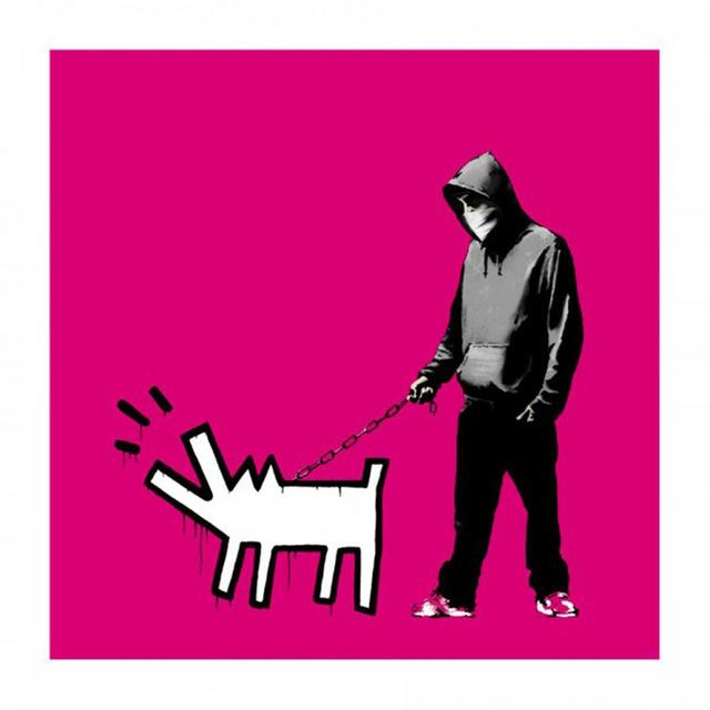 Banksy, 'Choose Your Weapon (Magenta) - Signed ', 2010, Hang-Up Gallery
