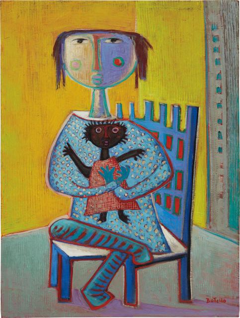 Angel Botello, 'Con muñeca negra', Phillips