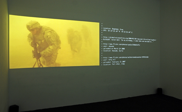 , 'A Short Film About War,' 2009-2010, The Current Museum