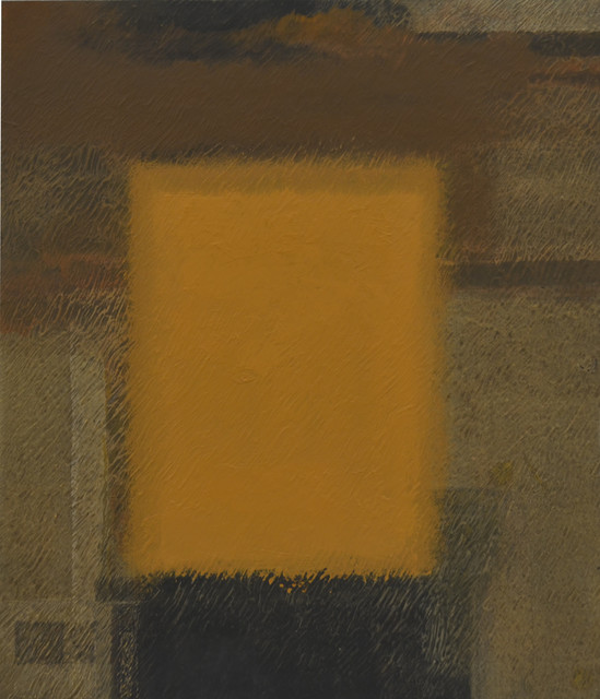 , 'YELLOW IN BROWN Apr'18,' 2018, Whitestone Gallery