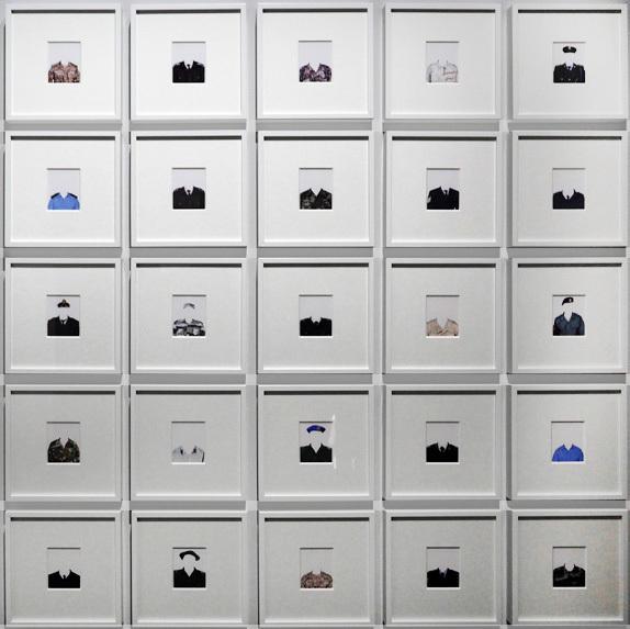 , 'Les Invisibles, série 50/50,' 2016-2017, Galerie Les filles du calvaire