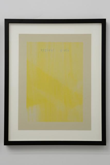 , 'Spare Ribs (January 1989),' 2012, Dio Horia