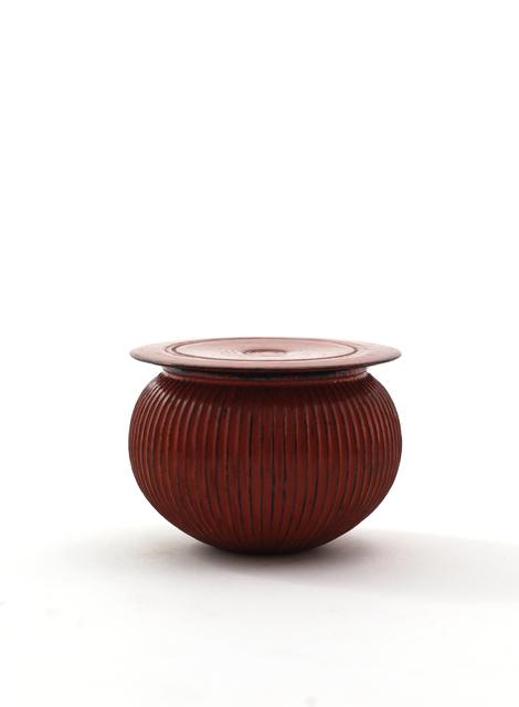 Jihei Murase, 'Line carved tea caddy, Negoro style', 2017, Ippodo Gallery