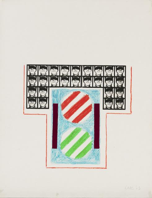 , 'Ohne Titel (Gillette 1963),' 1963, Galerie Schlichtenmaier