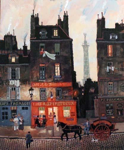 , 'Dans le quartier de la Bastille,' , Hugo Galerie