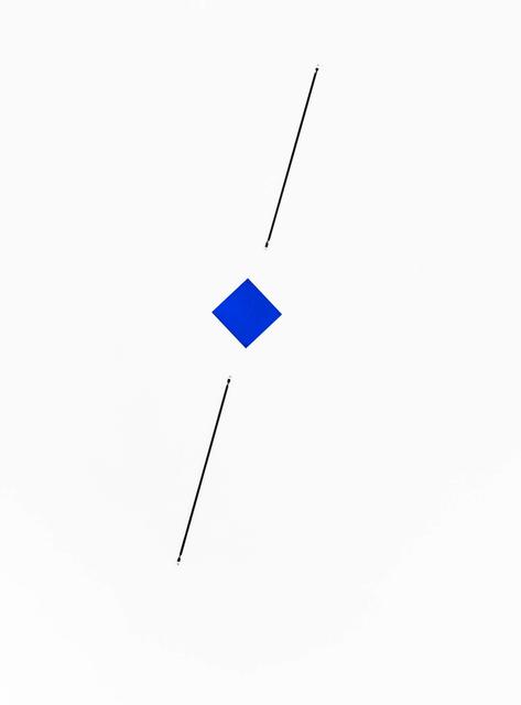Mehdi Moutashar, 'point à la ligne #2', 2019, Edition & Galerie Hoffmann