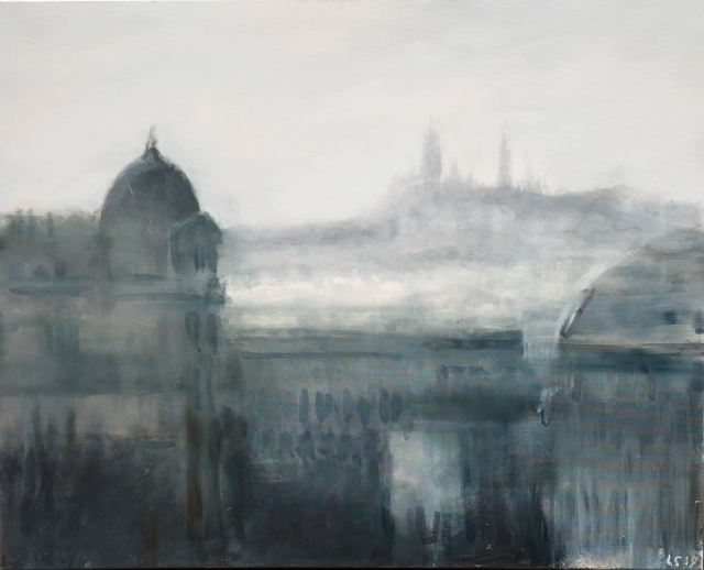 , 'VUE DES BUTTES CHAUMONT (PARIS, VIEW FROM PARC DES BUTTES-CHAUMONT),' 2019, Galerie Jamault