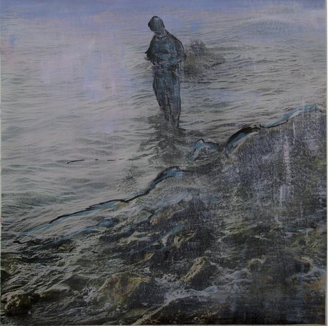 Uri Dotan, 'Praying on the Beach', 2014, Mana Contemporary