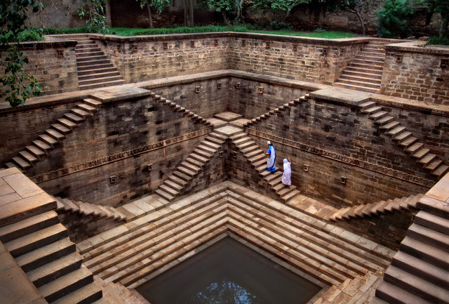 , 'Rajasthan Stepwell,' , Cavalier Galleries