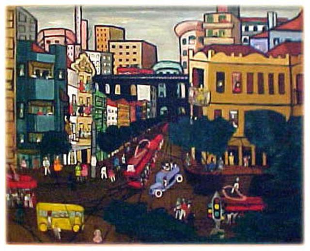 , 'Cidade,' 1944, Athena Galeria de Arte
