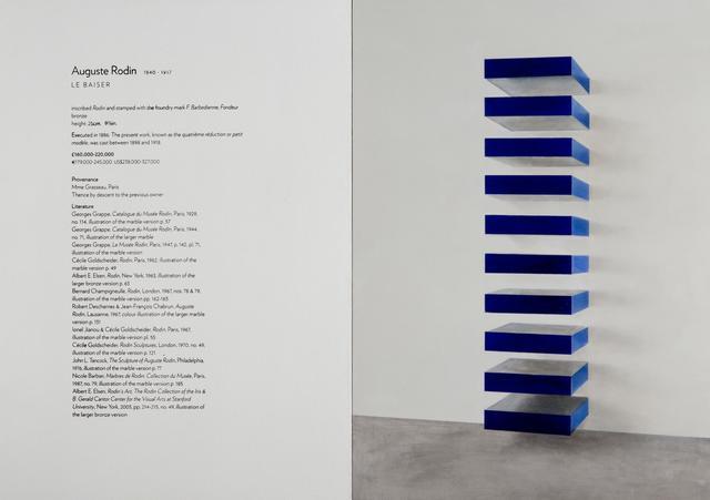 , 'Untitled (Rodin / Judd),' 2010, Almine Rech