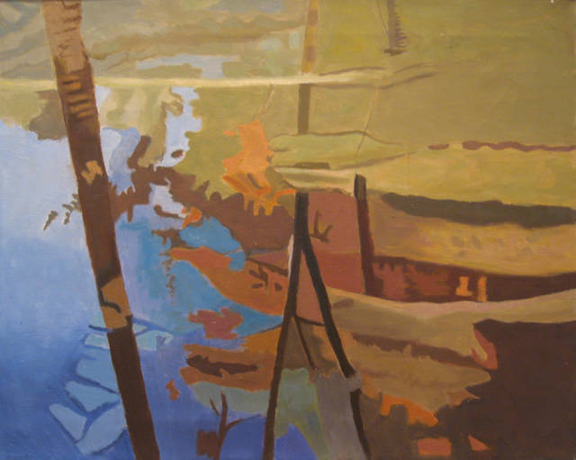 Ralph Wickiser, 'Blue Stream,' 1998, Walter Wickiser Gallery