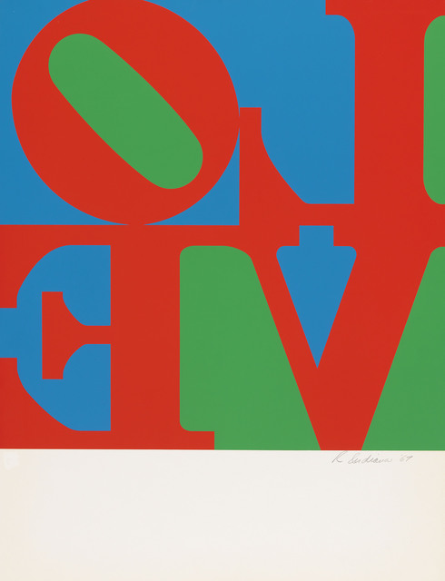Robert Indiana, 'Love Wall (Single Panel)', 1967, DANE FINE ART