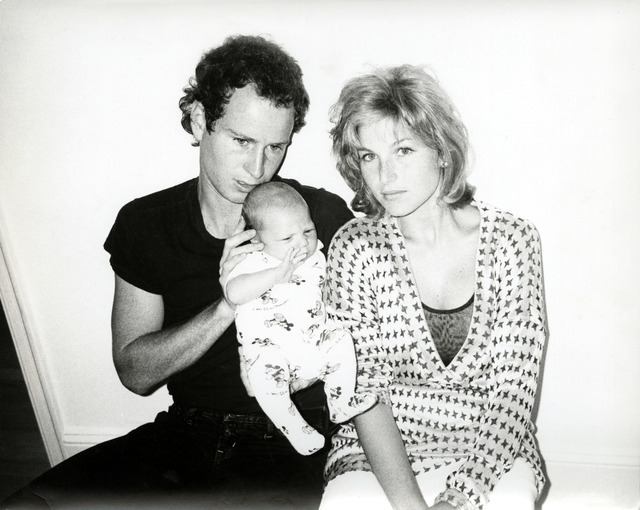 Andy Warhol, 'Andy Warhol, Photograph of John McEnroe, Tatum O'Neal and Baby Kevin, 1986', 1986, Photography, Silver gelatin print, Hedges Projects