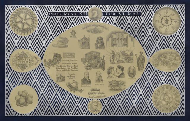 Adriana Bustos, 'Imago Mundi XIII. Turist Map', 2014, Ignacio Liprandi Arte Contemporáneo