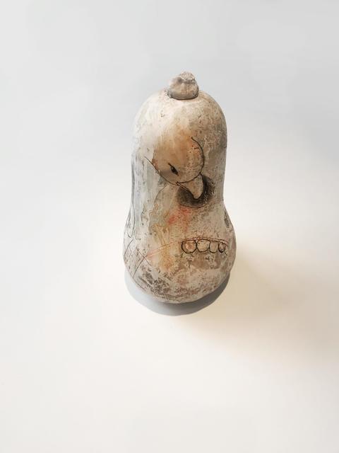 , 'untitled (bird eating eye),' 2018, GRIMM